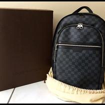 Louis Vuitton Damier Graphite Michael Backpack Luggage Carry on 100% Authentic  Photo