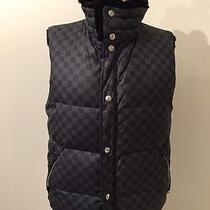 Louis Vuitton Damier Graphite Reversible Fur Vest 48 M Photo