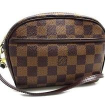 Louis Vuitton Damier Pochette Ipanema N51296 (Discontinued Model)  (Dh30739) Photo