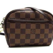 Louis Vuitton Damier Pochette Ipanema N51296 (Discontinued Model) (Dh30740)  Photo