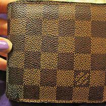 Louis Vuitton Damier Wallet Photo