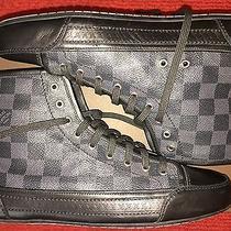 Louis Vuitton Flash Damier Graphite Sneaker Boot Photo