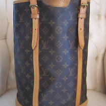 Louis Vuitton Handbag Monogram Bucket Gm Fl0051 Photo