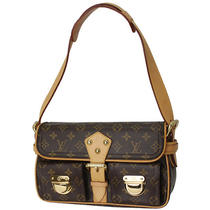 Louis Vuitton Hudson Monogram Shoulder Bag 28415 Photo