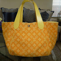 Louis Vuitton Ipanema Yellow Cabas Gm Cruise Collection Photo