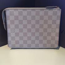 Louis Vuitton Light Gray Damier Couleur Element Clutch  Photo