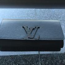 Louis Vuitton Louise Wallet Black New in Box Photo
