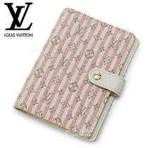 Louis Vuitton Lv Mini Lin Croisette Small Ring Agenda Rouge Red Notebook Cover Photo