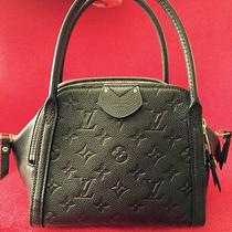Louis Vuitton Marais Bb M41045  Black Like New With Receipt Box 11.4x7.1x6.7 Inc Photo