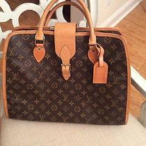 Louis Vuitton Mongram Rivoli Handbag/computer Briefcase Photo