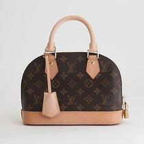 Louis Vuitton Monogram Alma Bb Bag M53152 Photo