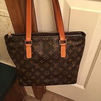 Louis Vuitton Monogram Cabas Piano Shoulder Bag Photo
