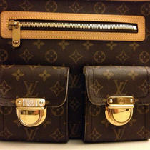 Louis Vuitton Monogram Canvas Hudson Gm Bag Handbag Photo