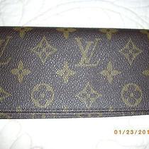 Louis Vuitton Monogram Checkbook Photo