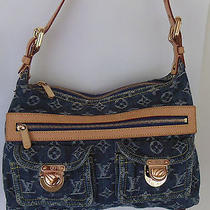 Louis Vuitton Monogram Denim Hudson Pm Shoulder Strap Handbag - N95049 Photo