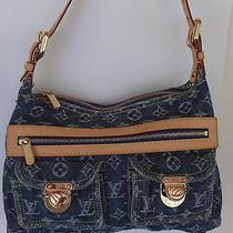 Louis Vuitton Monogram Denim Hudson Pm Shoulder Strap Handbag - N95049 Photo