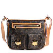 Louis Vuitton Monogram Hudson Gm Bag Handbag Messenger Purse Lv Photo