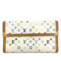Louis Vuitton Monogram Multicolor Porte Tresor International Long Wallet /e575 Photo