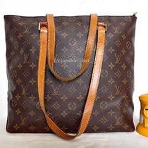 Louis Vuitton Monogram Piano Cabas Shoulder Bag Tote Purse Photo