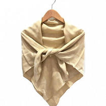 Louis Vuitton Monogram Scarf Champagne Gold Size- Photo