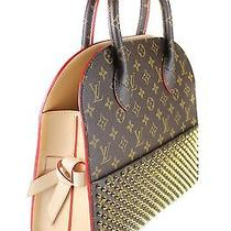 Louis Vuitton - Monogram Shopping Bag by Christian Louboutin (Limited