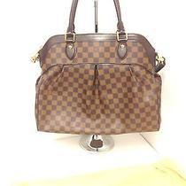 Louis Vuitton  Monogram Trevis Gm Handbag Photo