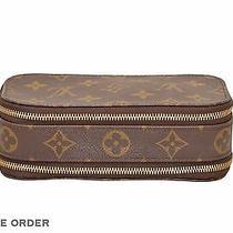 Louis Vuitton Monogram Trousse Blush Pm Cosmetic Pouch M47510 - D01403 Photo
