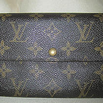 Louis Vuitton Monogram Wallet Th0949 Photo