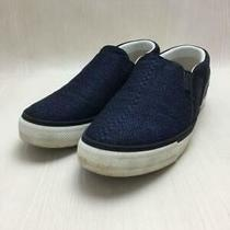 Louis Vuitton  Nvy Twister Line Slip-Size Notation 7 Size Na Navy Sneaker Photo