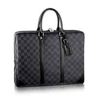 Louis Vuitton Porte-Documents Voyage Damier Graphite Msrp1940 Photo