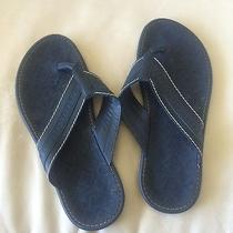 Louis Vuitton Pre-Owned Blue Ipanema Sandals Size 8 Photo