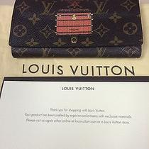 Louis Vuitton Sarah Trunks and Lock Wallet With Dustbag and Other Paperwork Photo