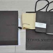 Louis Vuitton Shop Paper Bag and Box wallet&box Photo