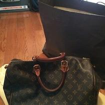 Louis Vuitton Speedy 35 Handbag Photo