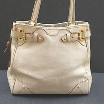 Louis Vuitton Suhali Le Majestueux Blanc White Handbag 100% Auth Photo