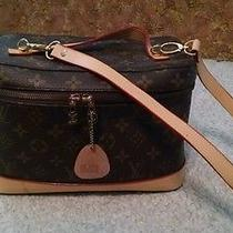Louis Vuitton Vanity/makeup Case Monogram Brown Photo