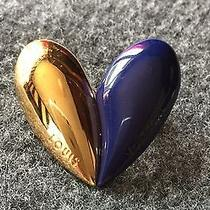 Louis Vuitton Vip Only Valentine's Heart Brooch Blue Pin Limited Ed Marc Jacobs Photo