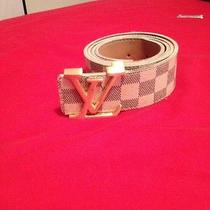 Louis Vuittons Belt Photo