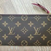 Louis Vuittons Wallet Women New Authentic Photo