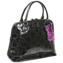 Loungefly Hello Kitty Black Embossed Bag - Black Photo