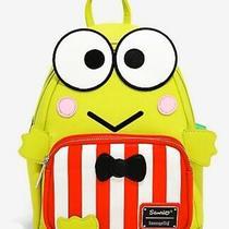 Loungefly Sanrio Keroppi Mini Backpack New Beautiful Green So Cute Photo