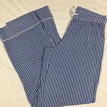 Love by Gap Womens Blue and White Striped Modal Pajama Pants Sz Xs Nwt Photo