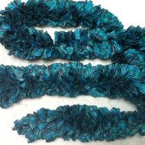 Love Me Scarf Blue Harbor Handmade by My Mother and Me Photo