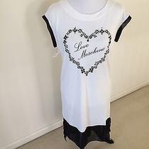 Love Moschino Beaded White Dress Photo