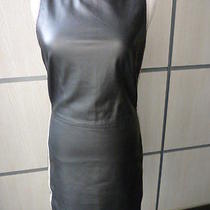 Love Moschino Dress Leather Size 4 Photo