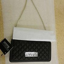 Love Moschino Super Quilted Clutch - Black Photo
