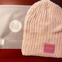 Love Your Melon Blush Beanie New  Be Mine Lenticular Patch Peach Pink Rare Photo