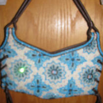 Lovely Bcbg Max Azria Beaded Sequin Handbagpurse Photo