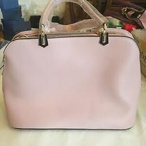 Lovely Blush Pink Handbag Purse W Shoulder Strap New Goldtone Findings Photo