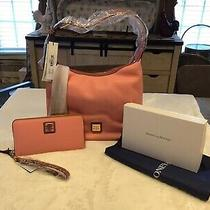 Lovely Dooney & Bourke Paige Sac With Matching Wallet Nwt Photo